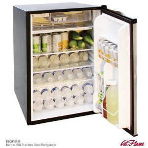 CalFlame BBQ09849P-A Stainless Steel Refrigerator Interior
