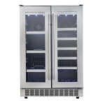 Danby DBC047D1BSSPR Silhouette Built-In Beverage Center