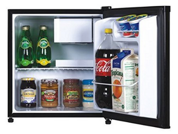 FR100-115 1.7 Cubic Foot Fridge Interior
