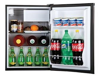 Haier HC27SF22RB 2.7 Cubic Feet Refrigerator/Freezer Interior
