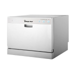 Magic Chef MCSCD6W1 Countertop Dishwasher