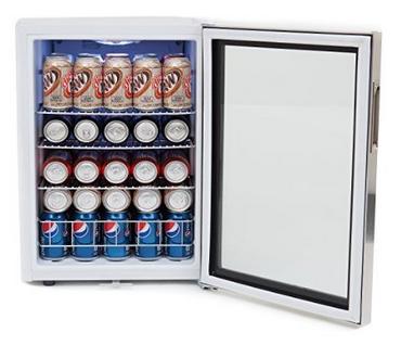 Whynter BR-091WS Beverage Refrigerator Interior