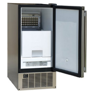 SPT IM-600US Stainless Steel Under-Counter Ice Maker Interior