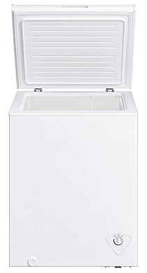 Midea MRC050S0AWW Chest Freezer Interior